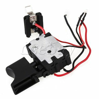 DC 7.2-24V Electric Drill Dustproof Speed Control Push Button Trigger SwitcODFS