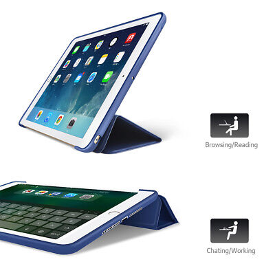 Shockproof smart Stand Cover Case Softer Back for iPad 2/3/4 iPad mini1/2/3/4