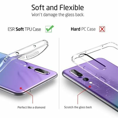 Shockproof Silicone Protective Clear Gel Cover Case For Huawei P20 Pro P Smart 2