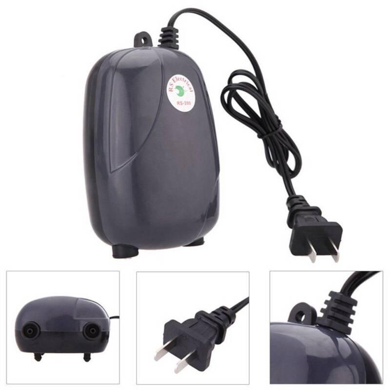 High Efficient  Fish Tank Aquarium Oxygen Fish Air Pump Tank Super Silent 3W/5W 8