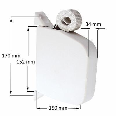 Enrouleur De Courroie Maxi Atours 6m Blanc Volets Volet Roulant Sangle Eur 14 63 Picclick Fr