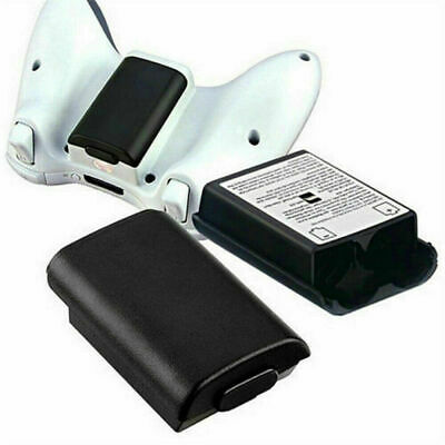 Black AA Battery Back Cover Case Shell Pack For Xbox 360 Wireless Controller USA 11