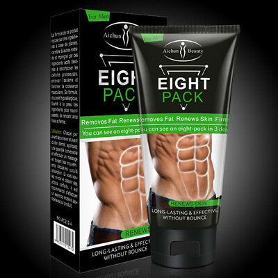 Aichun Eight Pack For Men Cream Strong Waist Torso Smooth Lines Press Belly 170g 8
