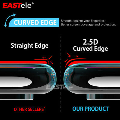 2x Apple iPhone XS MAX XR X GENUINE EASTele Tempered Glass Screen Protector Film 10