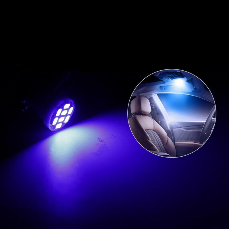 13x Auto Car Interior LED Lights For Dome License Plate Lamp 12V Kit Accessories 12
