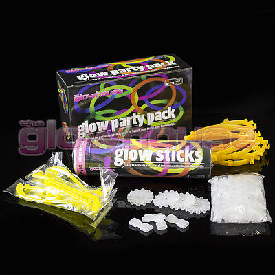 Glow Sticks Party Pack Bracelets, Glasses, Bunny Ears, Ball, Flowers and more 2