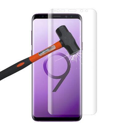 """Vitre De Protection Écran Film Verre Trempe Incurvé Samsung Galaxy S9 5.8"""" 3"""