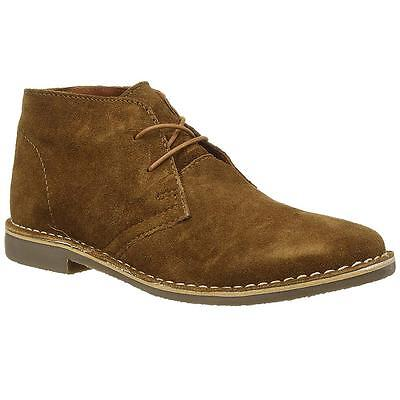 752d78f58f0 MENS DESERT BOOTS RedTape Gobi Suede Leather Casual Walking Chukka Ankle  Boots