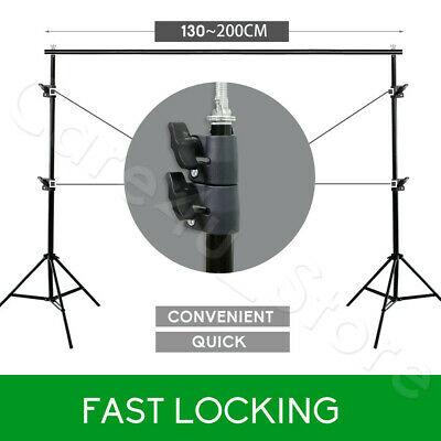 Photo Video Black/White/Green Screen Backdrop Background Support Stand Reflector 9