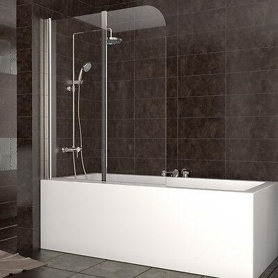 Wow duschabtrennung badewanne duschwand faltwand glas for Duschabtrennung badewanne