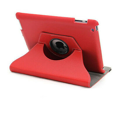 360 Rotating Leather Smart Cover Case for iPad 6th Gen iPad 5 4 3 2 Air mini 6