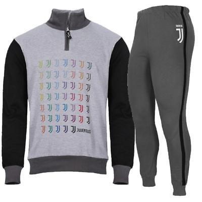 PLANETEX Pigiama Uomo Juve Felpato Abbigliamento Ufficiale Juventus PS 25725
