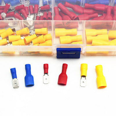130pcs/lot Female Male Electrical & Wiring Connector Insulated Crimp Terminal 3