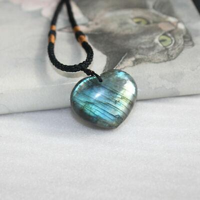 Natural Crystal Pendulum Quartz Stone Pendant Chakra Healing Gemstone Necklace 5