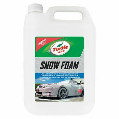 Turtle Wax Snow Foam Car Shampoo 5 Litre 3