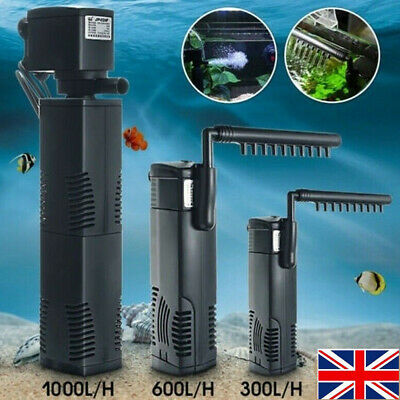 1500L Hidom Aquarium Pump Spray Bar Fish Tank Filter Filtration Submersible 7