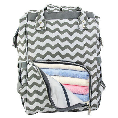 LEQUEEN Mummy Maternity Nappy Diaper Bag Large Capacity Baby Changing Backpack 8