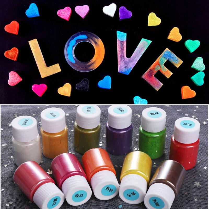 Making Slime Coloring Bath Bomb Makeup Pigment Mica Powder Soap Dye Eye Shadow