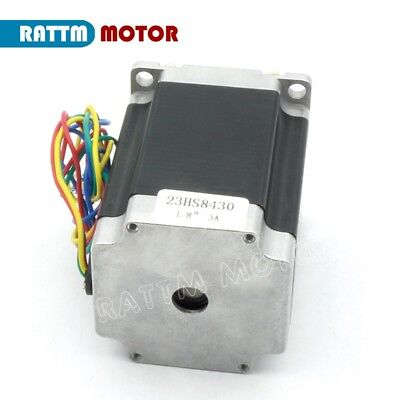 【IT】 3Pcs Nema23 Hybrid Stepper motor single shaft 270oz.in 1.8N.m 3A 76mm CNC 7