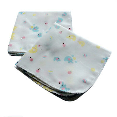 10Pcs Baby Newborn Gauze Muslin Square 100% Cotton Bath Wash Handkerchief Towels 4