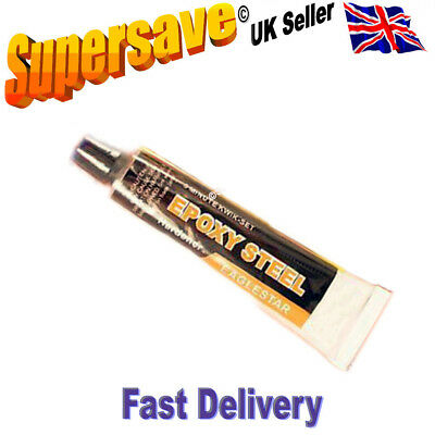Large tube Epoxy resin glue adhesive quick set 5m bonds glass metal plastic wood 2