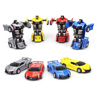 Robot Car Transforming Kids Toys Toddler Vehicle Cool Toy For Boys Xmas Gift 3