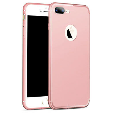 Coque Housse Hybride iPhone 8/7/6/6S/PLUS/X/XR/XS/Max/5/SE+ Film Verre Trempé 8