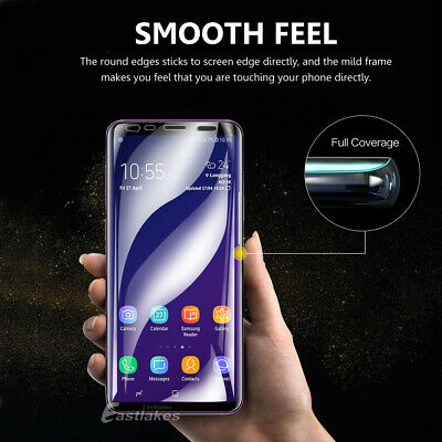 HYDROGEL AQUA Screen Protector Samsung Galaxy S10 5G S9 S8 Plus Note 8 9 S7 Edge 4