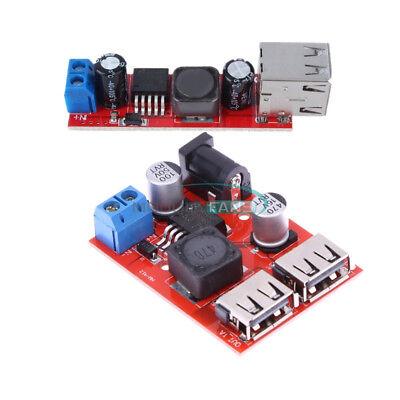 DC9V//12V//24V//36V Turn To 5V 3A Dual USB Charger Step-Down Converter Module 1PC