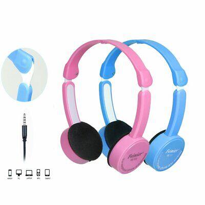 Children Kids Wired Headphones Headband Girls Earphones for iPad/Tablet PC CA 2