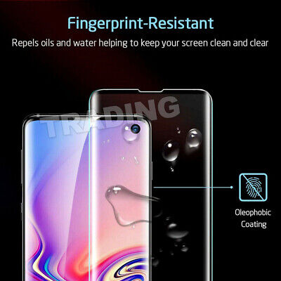 Galaxy S9Plus S10 5G Note9 S10e Full Tempered Glass Screen Protector For Samsung 8