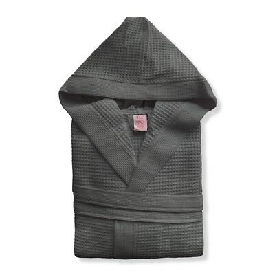 Accappatoio uomo/donna con cappuccio nido d'ape TOP QUALITY 100% cotone mod.CLUB 4