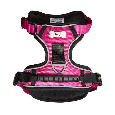Bunty Soft Padded Comfortable Fabric Dog Puppy Pet Adjustable Outdoor Harness 9