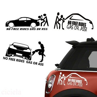 Universal Funny Car Stickers Body Side Decal Vinyl Graphics Sticker Car Styling