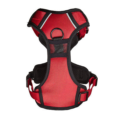 Bunty Soft Padded Comfortable Fabric Dog Puppy Pet Adjustable Outdoor Harness 12