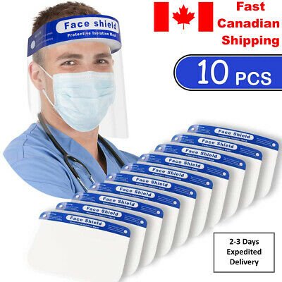 Reusable Face Shield Anti-dust, Anti-droplets, Anti-fog, Protection - multi pack 3
