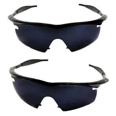 POLARIZED REPLACEMENT Lenses for Oakley M Frame Strike Black Iridium ...