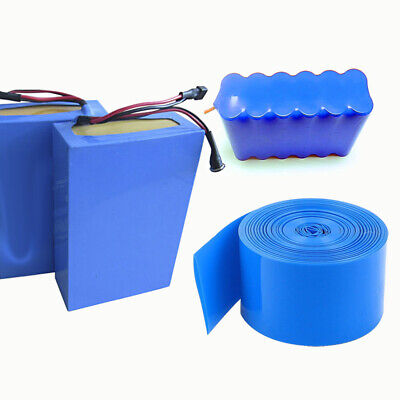 Heat Shrink Tube Tubing Wrap Sleeve Blue 200mm x 50cm 18650 Battery UK Stocks