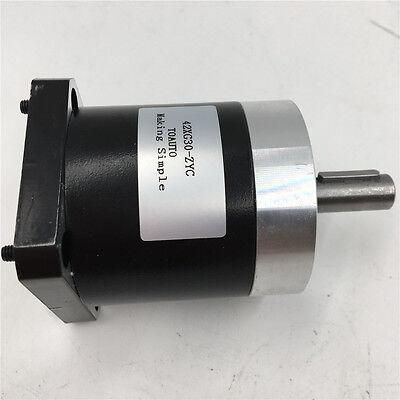 5:1 Planetary Gearbox Nema17 Speed Reducer Gear Head for BYG42 Stepper Motor 7