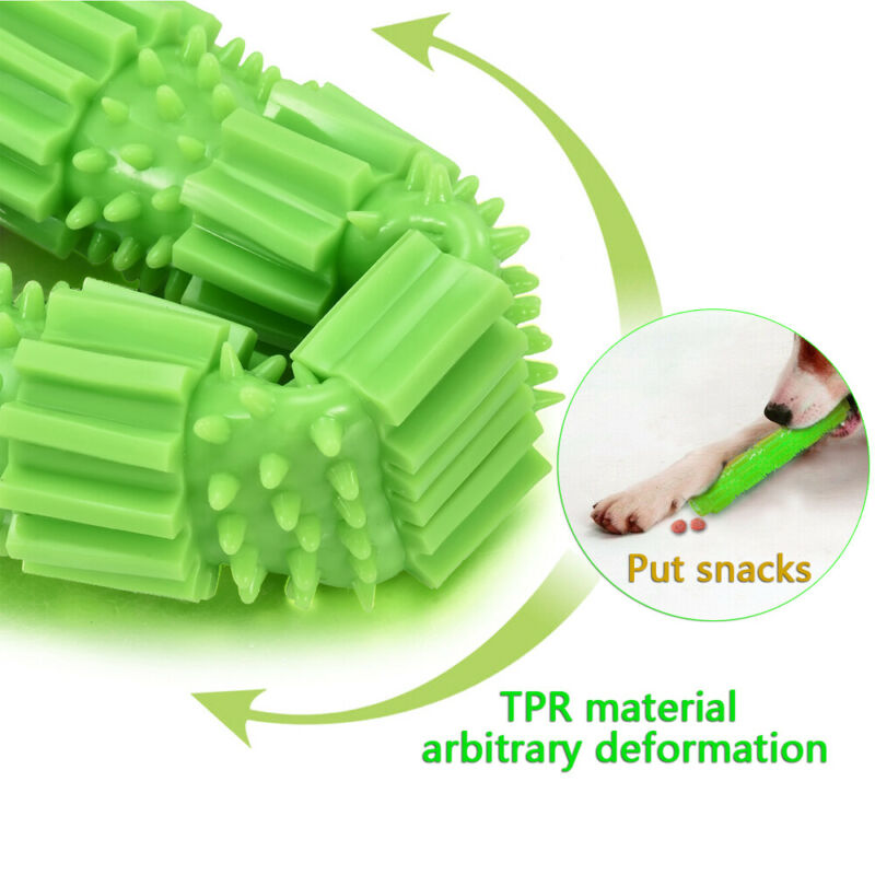 Dog Chew Toys for Aggressive Chewers Treat Training Rubber Tooth Cleaning Toy 4