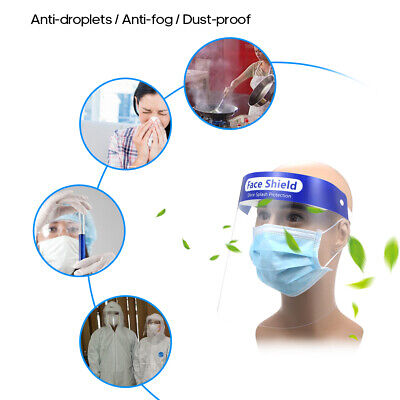 Reusable Face Shield Anti-dust, Anti-droplets, Anti-fog, Protection - multi pack 2