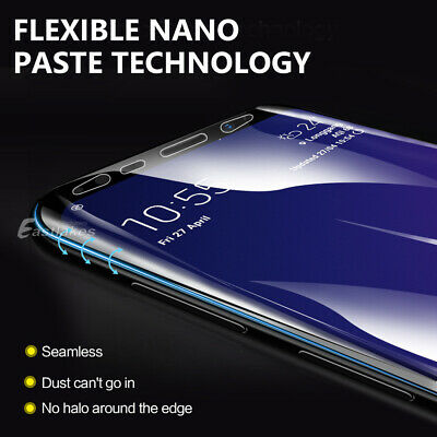 HYDROGEL AQUA Screen Protector Samsung Galaxy S10 5G S9 S8 Plus Note 8 9 S7 Edge 9