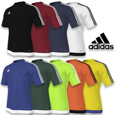 Estro Shirt 15 Garçon Haut Courtes T Enfants Manches Adidas Entraînement IWEH92YD
