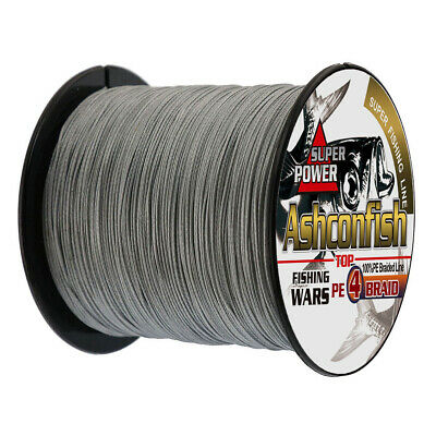 Super Strong 100M-1000M PE Braided Fishing Line 6LB-100LB Multifilament PE Lines 5