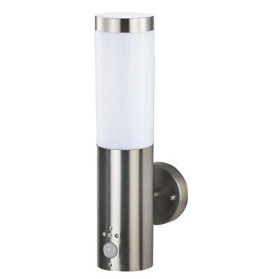Grafner Edelstahl Wandleuchte Außenlampe mit Bewegungsmelder Wandlampe Hoflampe 3