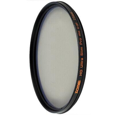 Zomei 77mm Filter UV Filter CPL Filter ND Filter HD Filter for DSLR Camera lens 7