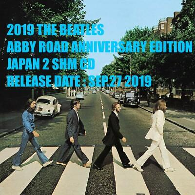 2019 The Beatles Abbey Road Anniversary Japan 2 Shm Cd Deluxe Edition 3