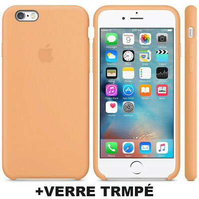Cover Coque iPhone 6 7 8 Plus Xr Xs MAX X Slim Protection + Film Verre trempé 9