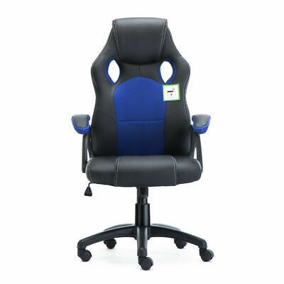 Office Chair Executive Racing Gaming Swivel Pu Leather Sport Computer Desk 10