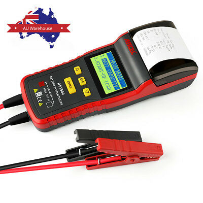 Ancel Bst500 Car Truck 12V/24V Battery Analyzer Tester Tool With Thermal Printer